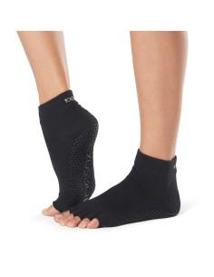 Toesox calcetines yoga, negro