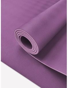 Esterilla yoga antideslizante con un tacto suave y agradable, hecha 100% de látex natural