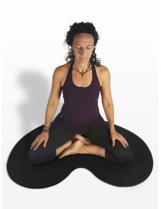 MeditAid Esterilla para la Meditación, negro