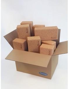 Caja de 20 ladrillos - Corcho