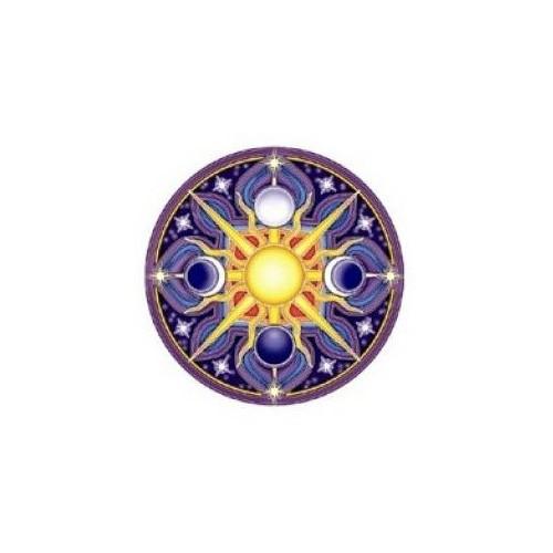 Sticker celestial mandala