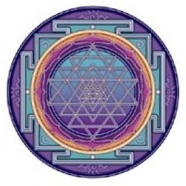 Sticker Sri Yantra