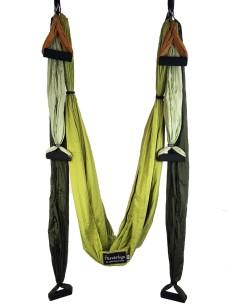 Trapecio de Yoga - Columpio Pilates Aéreo combinados en 4 colores - Columpio MundoYoga combinación de 4 colores