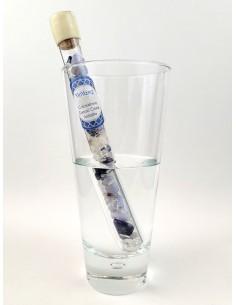 Varilla vitalizante para el agua, llena de piedras preciosas - YinYang - MundoYoga