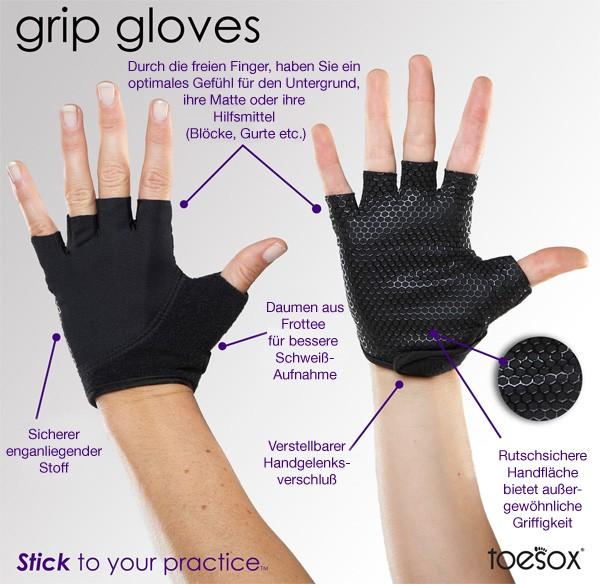 "Guantes ""Grip-glove"" - Purple"