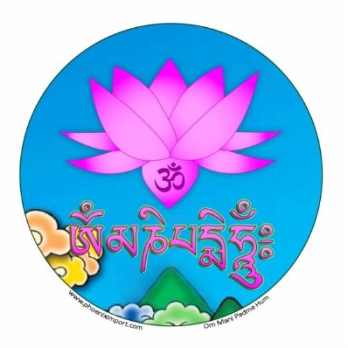 Sticker Om Mani Padme Hum