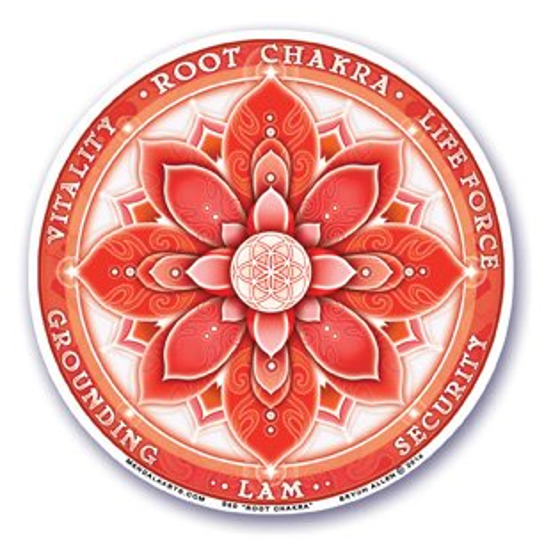 Sticker Primer Chakra - Muladhara