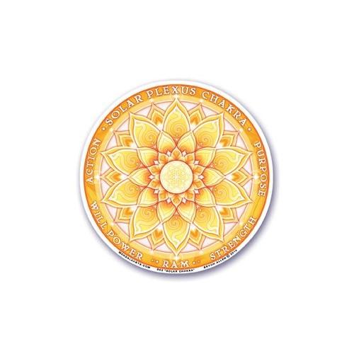 Sticker Tercer Chakra - Manipura