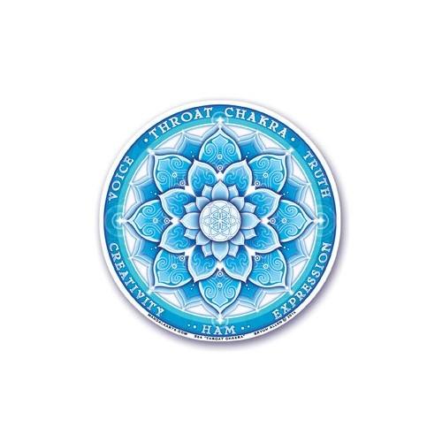 Sticker Quinto Chakra - Vishuddha